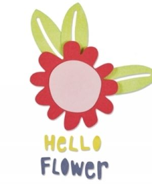 Matrita Sizzix Thinlits -  Hello Flower 660805
