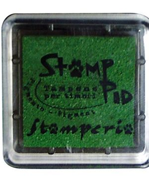 Tusiere Stamp Pad 2.5x2.5 cm - green WKP02P