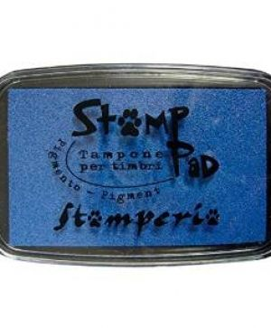 Tusiere Stamp Pad 7.5x5 cm - Blue WKP04G