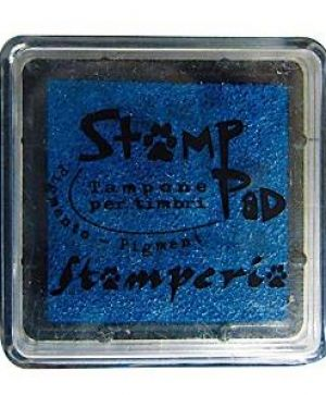 Tusiere Stamp Pad 2.5x2.5 cm - Blue WKP04P