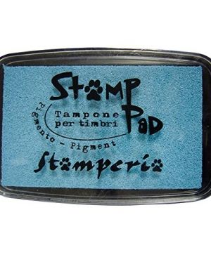 Tusiere Stamp Pad 7.5x5 cm - Light blue WKP07G