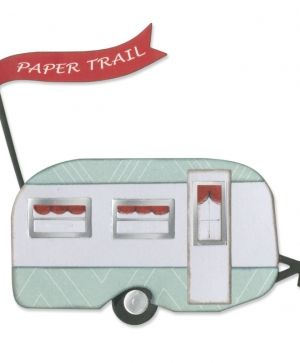 Matrita Sizzix Thinlits - Travel Trailer 660327