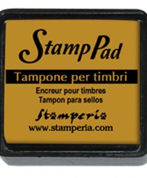 Tusiere Stamp Pad 2.5x2.5 cm - Mustard yellow WKP30P
