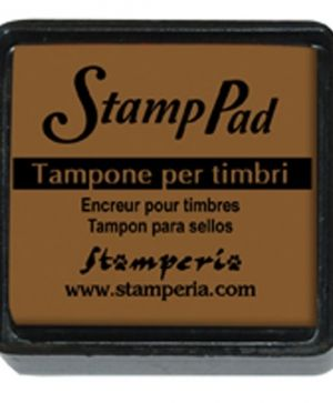 Tusiere Stamp Pad 2.5x2.5 cm - light brown WKP28P