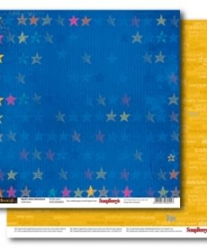 Hartie scrapbooking 30.5x30.5cm - Basik's New Adventure To the stars SCB220606803