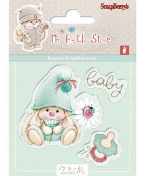 Stampila Silicon 7x7cm - Baby Bunny SCB4907044