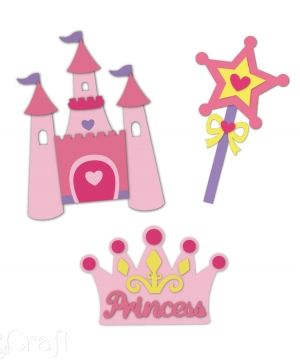 Kit creativ din foam - Princess accessories KSPI-357