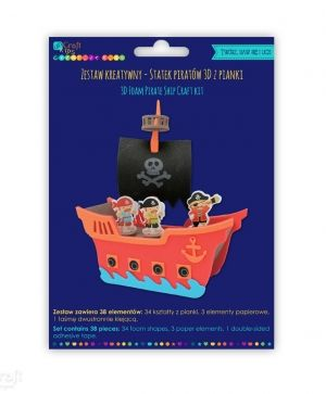 Kit creativ din foam - Pirate ship KSPI-363