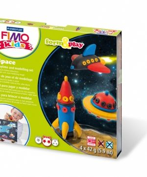 Set pasta polimerica Kids, 4x42g - Space G803409LZ