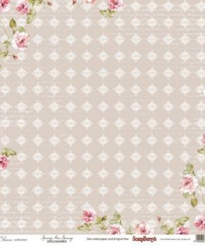 Set cartoane scrapbooking 30,5x30,5cm - In Bloom SCB220608800B