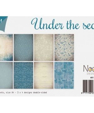 Set cartoane scrapbooking A4 12 coli - Under the sea 6011-0514