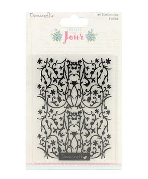 Matrita embossing folder - Couture du Jour  DCEMB004