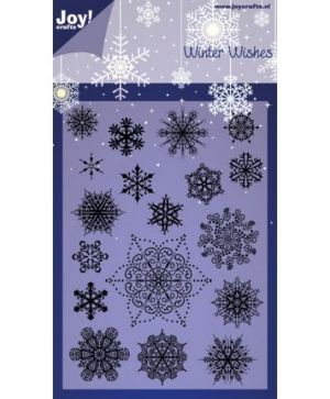 Stampila Silicon - Winter wishes 6410-0125