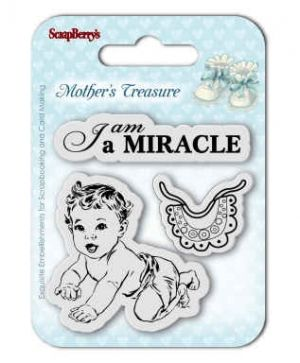 Stampila Silicon 7x7cm - Mother's Treasure, Miracle SCB4907024