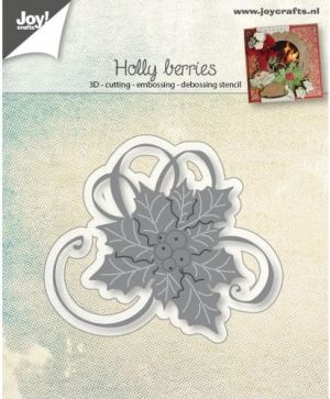 Matrita JoyCrafts - Holly with berries 6002-0944