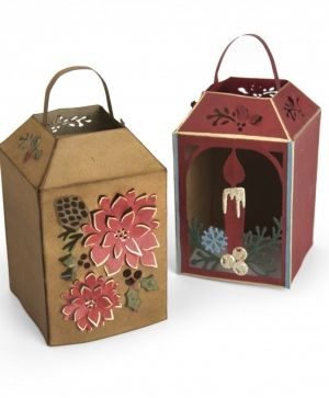 Matrita Sizzix Thinlits - Winter Lantern 662283