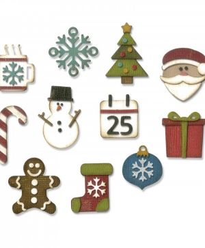 Matrita Sizzix Thinlits - Mini Christmas Things 662418