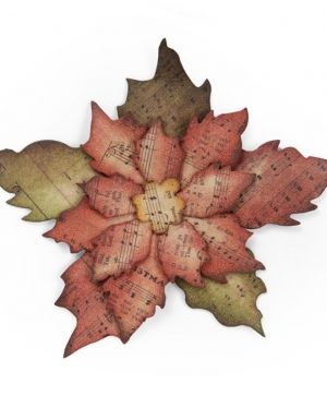 Matrita Sizzix Bigz - Tattered Poinsettia 658261