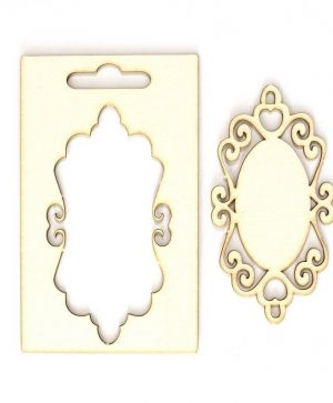 Elemente din carton - Frame with ornaments IDEA0978