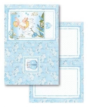 Set cartoane scrapbooking 11,4х16,5см, 24 buc - Baby Boy SBBPC04