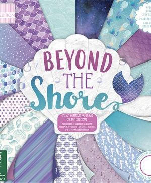 Set cartoane scrapbooking 15,2х15,2 cm - Beyond the Shore FEPAD169