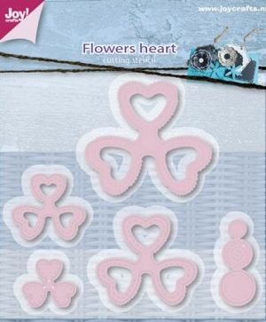 Matrita JoyCrafts -  Mery's Flowers heart  6002-0597