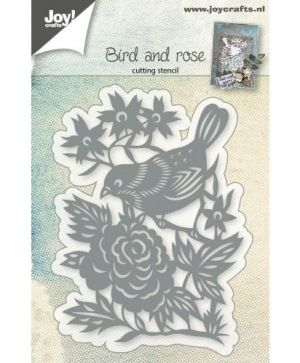 Matrita JoyCrafts - Bird with rose 6002-0765