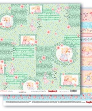 Hartie scrapbooking 30.5x30.5cm - Sweet Moments, Storytime  SCB220610306