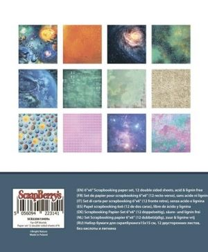 Set cartoane scrapbooking 15,2х15,2cm - Far-Off Worlds SCB220610909X