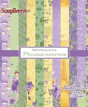 Set cartoane scrapbooking 15,2х15,2cm - Precious Memories SCB220610809X