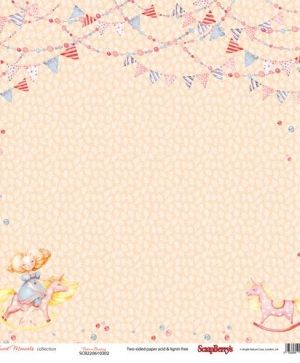 Set cartoane scrapbooking 30,5x30,5cm - Sweet Moments SCB220610300B