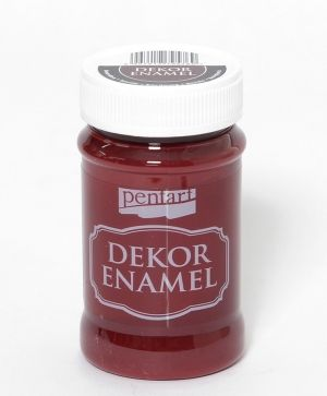 Vopsea Decor Email 100ml - burgundy P34126