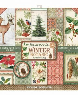 Set cartoane scrapbooking 30,5х30,5см -  Winter Botanic SBBL44