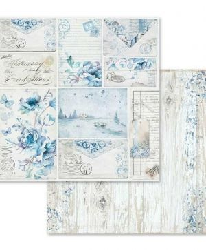 Set cartoane scrapbooking 30,5х30,5см - Blue land SBBL47
