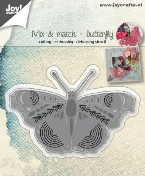 Matrita JoyCrafts - Mix and Match Butterfly 6002-1068