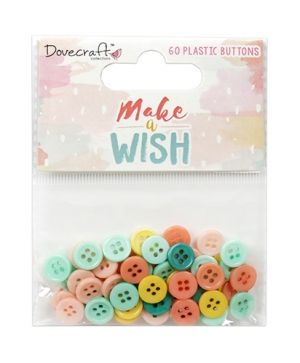 Nasturi decorativi 60 buc - Make A Wish DCBTN028
