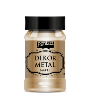 Vopsea Decor Metal Matte 100ml - bronz P35109