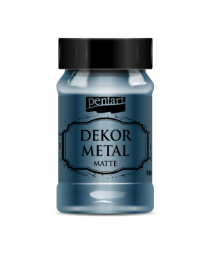 Vopsea Decor Metal Matte 100ml - Oxford albastru P35205