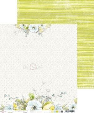 Hartie scrapbooking 30.5x30.5cm, 6 coli - Morning Dreams CC-ZPD-MDII-01