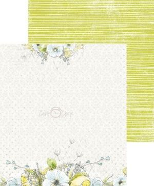 Hartie scrapbooking 15.2x15.2cm, 18 coli - Morning Dreams II CC-ZPM-MDII-01