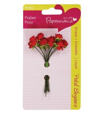 Flori hartie - Red Rose PMA-368305