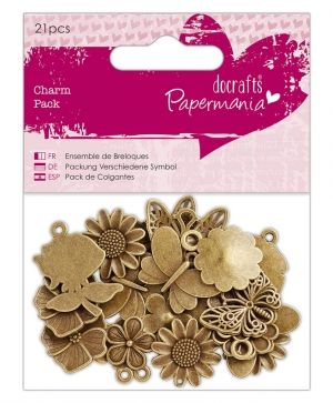 Elemente de decorare - Papermania - Flowers & Butterflies PMA-356014