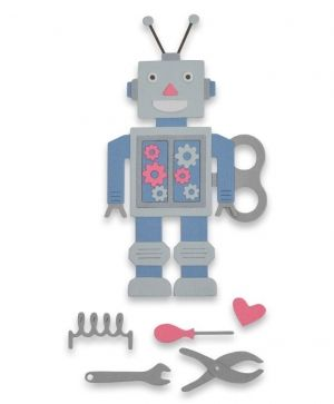 Matrita Sizzix Thinlits - Robot 663315