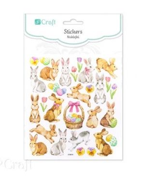 Stickere 29 buc. - Easter bunnies DPNB-087