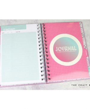 Planner / jurnal - Travel DCPLN012
