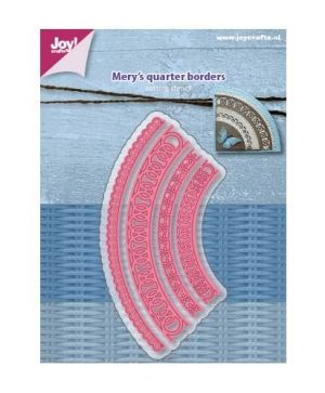 Matrita JoyCrafts - Mery's Quarter borders 6002-1160