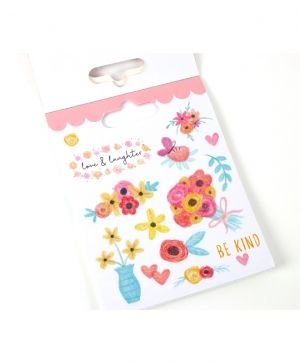 Stickere 122 buc - Flowers DCSTB002