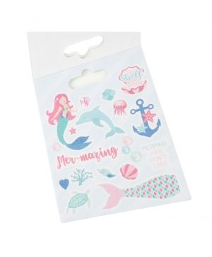 Stickere 168 buc - Mermaids DCSTB011