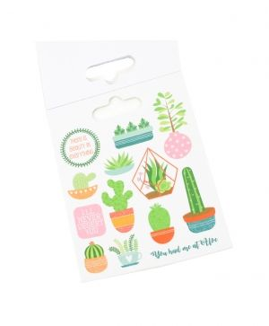Stickere 104 buc - Succulents DCSTB014