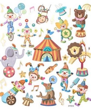 Stickere 31 buc. - Happy circus DPNK-028